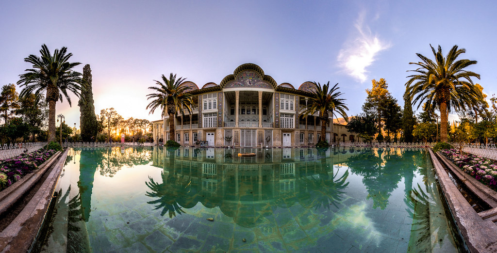 Eram Garden, photo by Mohammad Reza Domiri Ganji