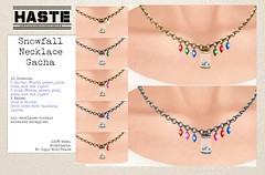 [Haste] Snowfall Necklace @ TLC
