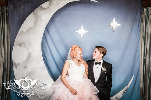Michelle & Will's Moonlight Wedding: Sailor Moon inspired