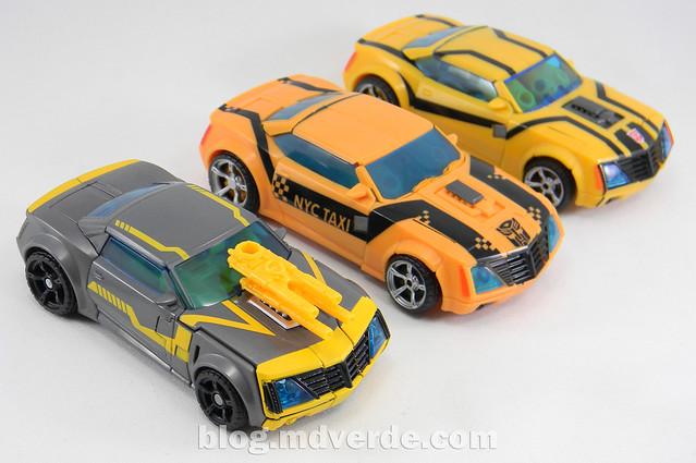 Transformers Shadow Strike Bumblebee Deluxe - Transformers Prime RID - modo alterno vs otros Bumblebee