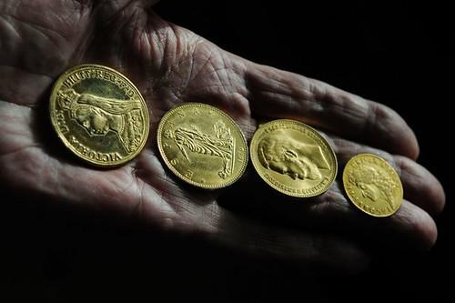 Nazi counterfeit gold coins