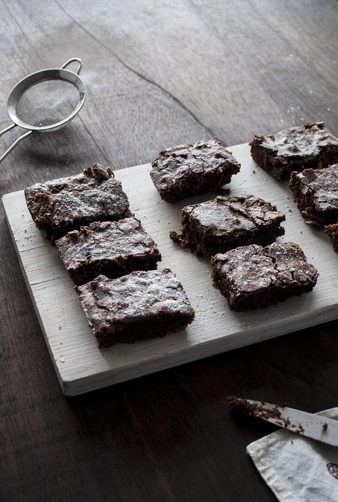brownie de navidad
