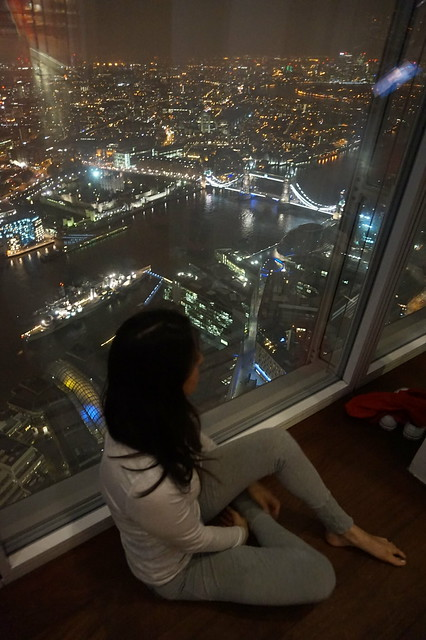 Yoga in the Shard Nov 2014