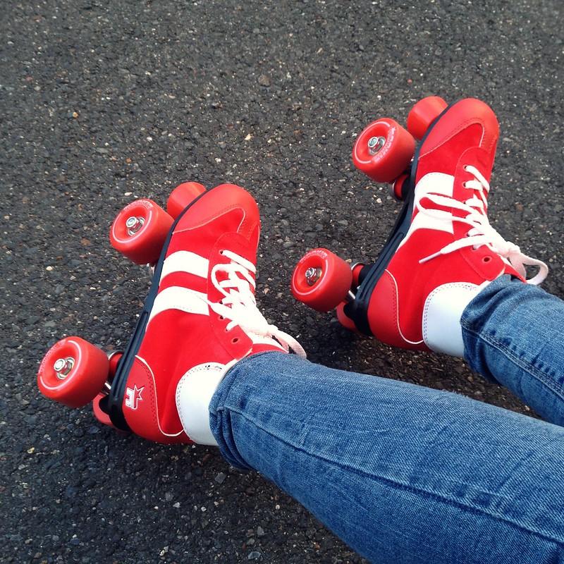 Rollerstaking on Saturdays