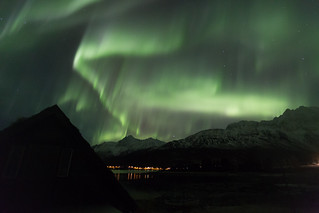 Northern Lights near Tromsø, Norway