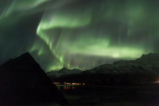 Northern Lights near Tromsø, Norway