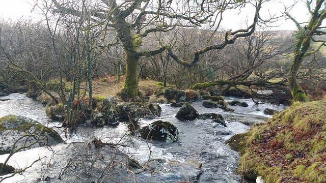 Stream near Longash