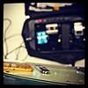"Meikän tiski / behind the ""counter"" #Sixstrings #guitar #bandlife"