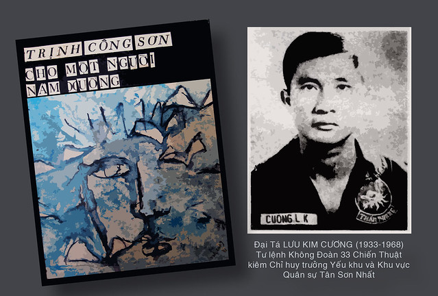 Đại Tá Lưu Kim Cương (1933-1968), Tư lệnh Không Đoàn 33 Chiến Thuật Không Lực VNCH - Col. Lưu Kim Cương, Commader of the Vietnamese Air Force (VNAF) 33rd Tactical Wing