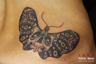 Tattoo by ALX TRMP à Aix en provence. Fisherman tattoo club
