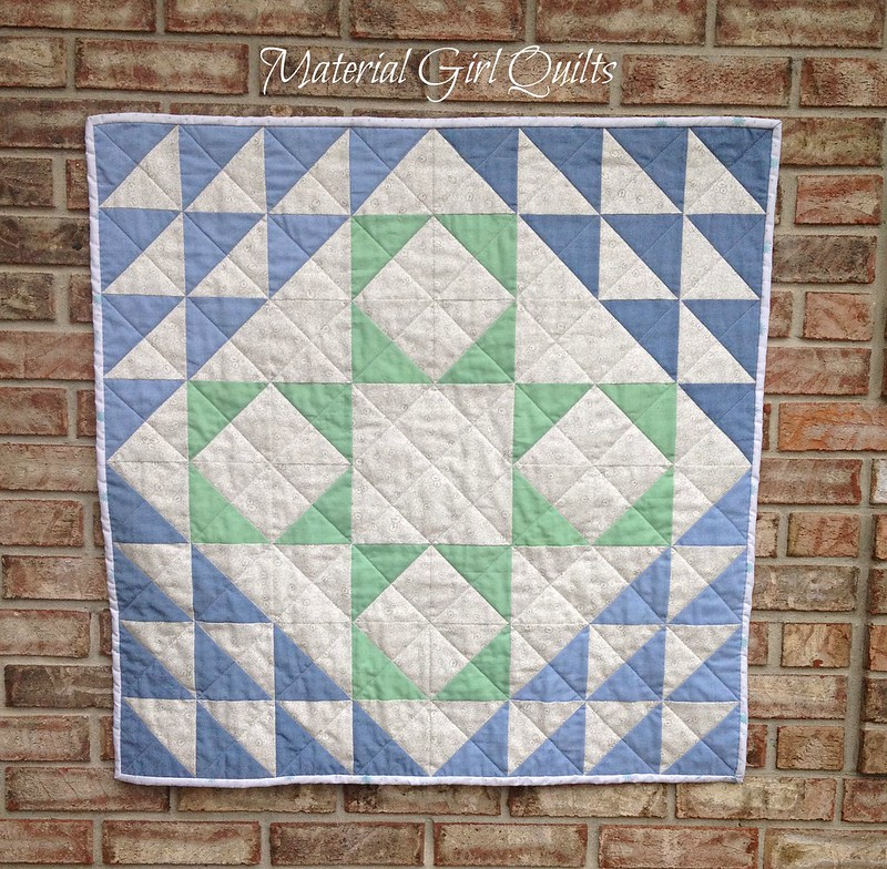"""Naughty Nancy"" baby quilt"