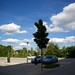 Small photo of Parking lot of Acom Hotel Nurenberg