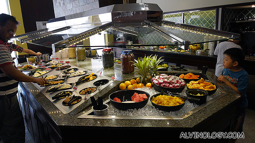 All-you-can-eat salad bar