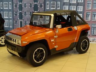 Hummer HX Electric Car