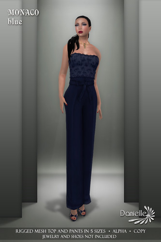 DANIELLE Monaco Blue
