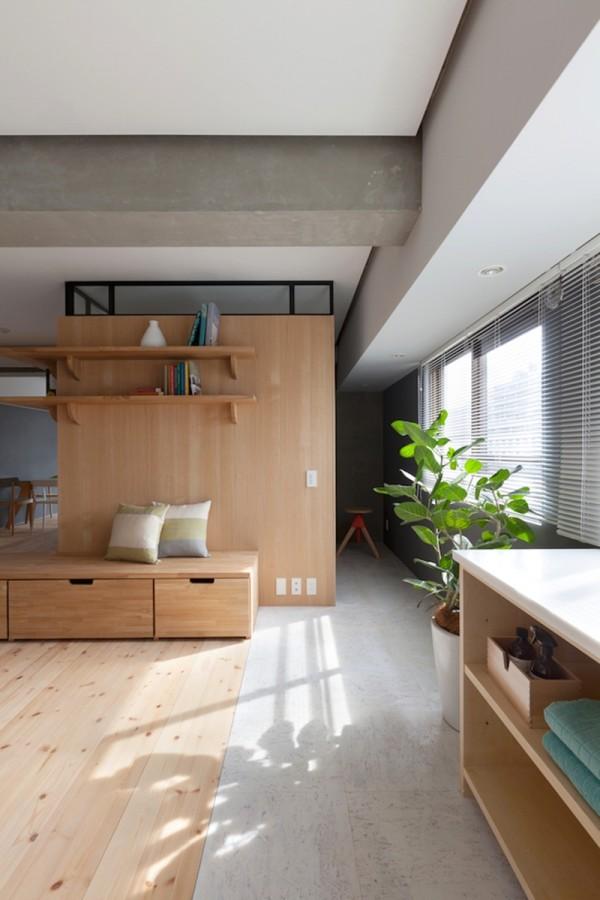 Ngôi nhà với nội thất phong cách Nhật Bản