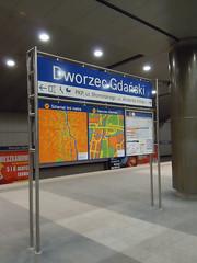 Information in Metro Warszawa