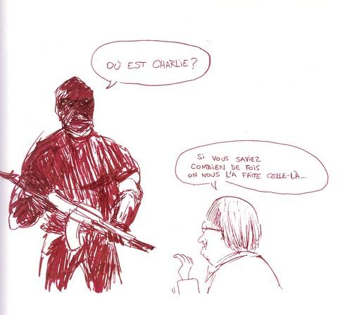 Nous sommes Charlie, par Lounis Ould Khaled - Les étudiants du CESAN rendent hommage
