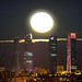 Luna llena Diciembre 2014 Cuatro torres Madrid
