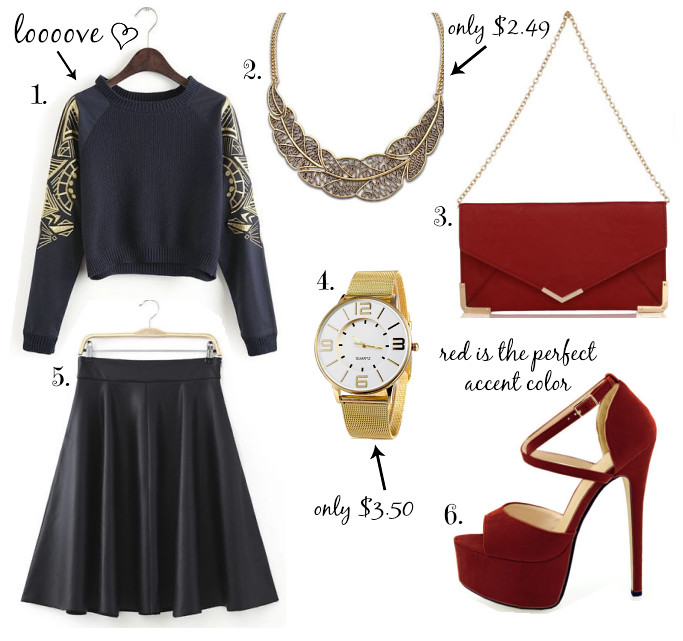 black-red-gold-outfit-ebay