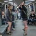 No Pants Subway Ride 2015: intertangled ephebos