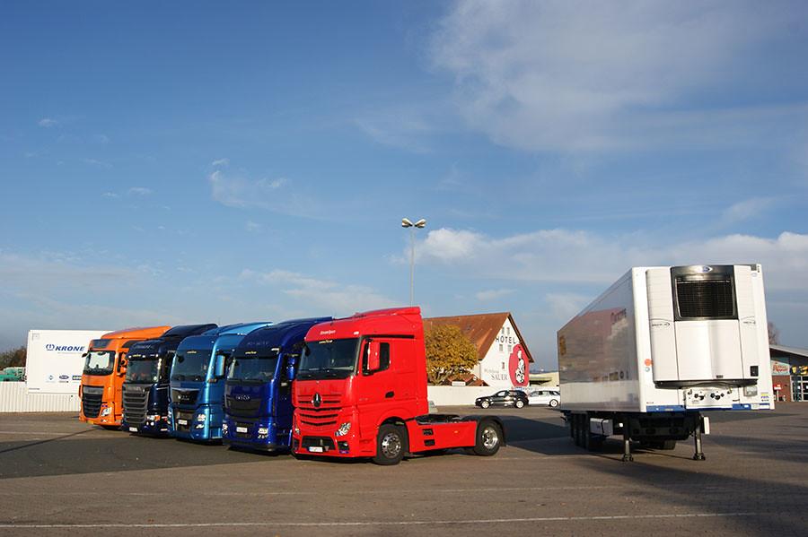 тягачи на European Truck Challenge 2014