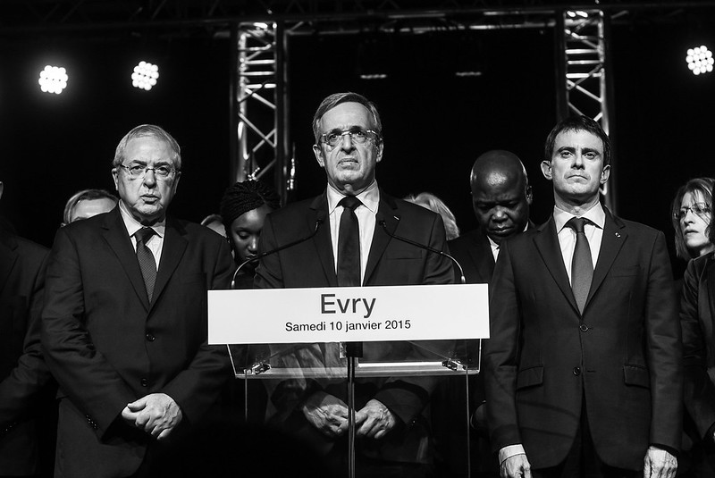 Evry Daily Photo - Mairie Evry Voeux 2015