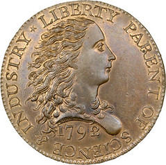1792 Birch Cent obverse