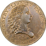1792 Birch Cent obverse