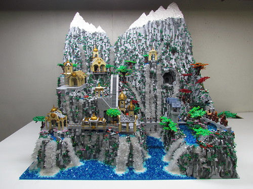 Geek Art Gallery: Lego Creation: Rivendell