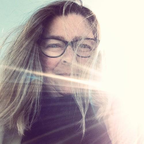 Sunny. Happy. Portrait.