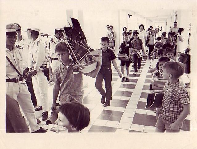 Saigon Feb 1965 - Evacuation of American Community School