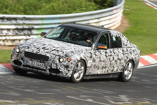BMW Serie 3 test mule 1