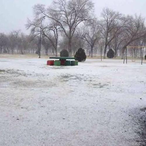 Se registra #nevada en Ciudad Juárez, #Chihuahua , #México
