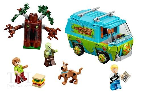 LEGO Scooby Doo 75092