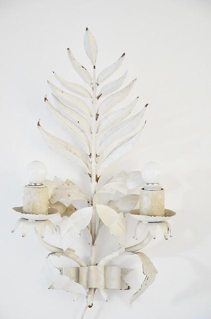 vintage palm chandelier