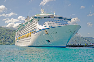 Royal Caribbean Explorer of the Seas docked at Labadee Haiti
