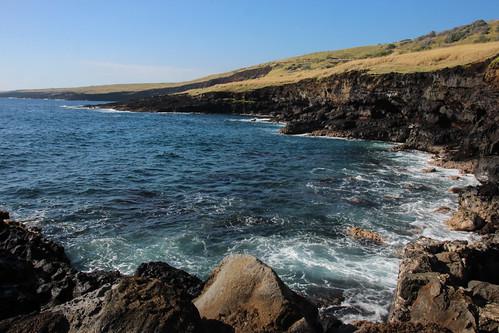 ocean winter sea usa water canon outdoors rebel hawaii coast december unitedstates mountainview bigisland hawaiitrip t3i 2014
