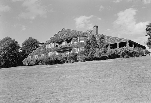 William G. Low House, Bristol, RI 1886-87 demolished 1962  by architect Charles Follen McKim of the New York City firm, McKim, Mead & White
