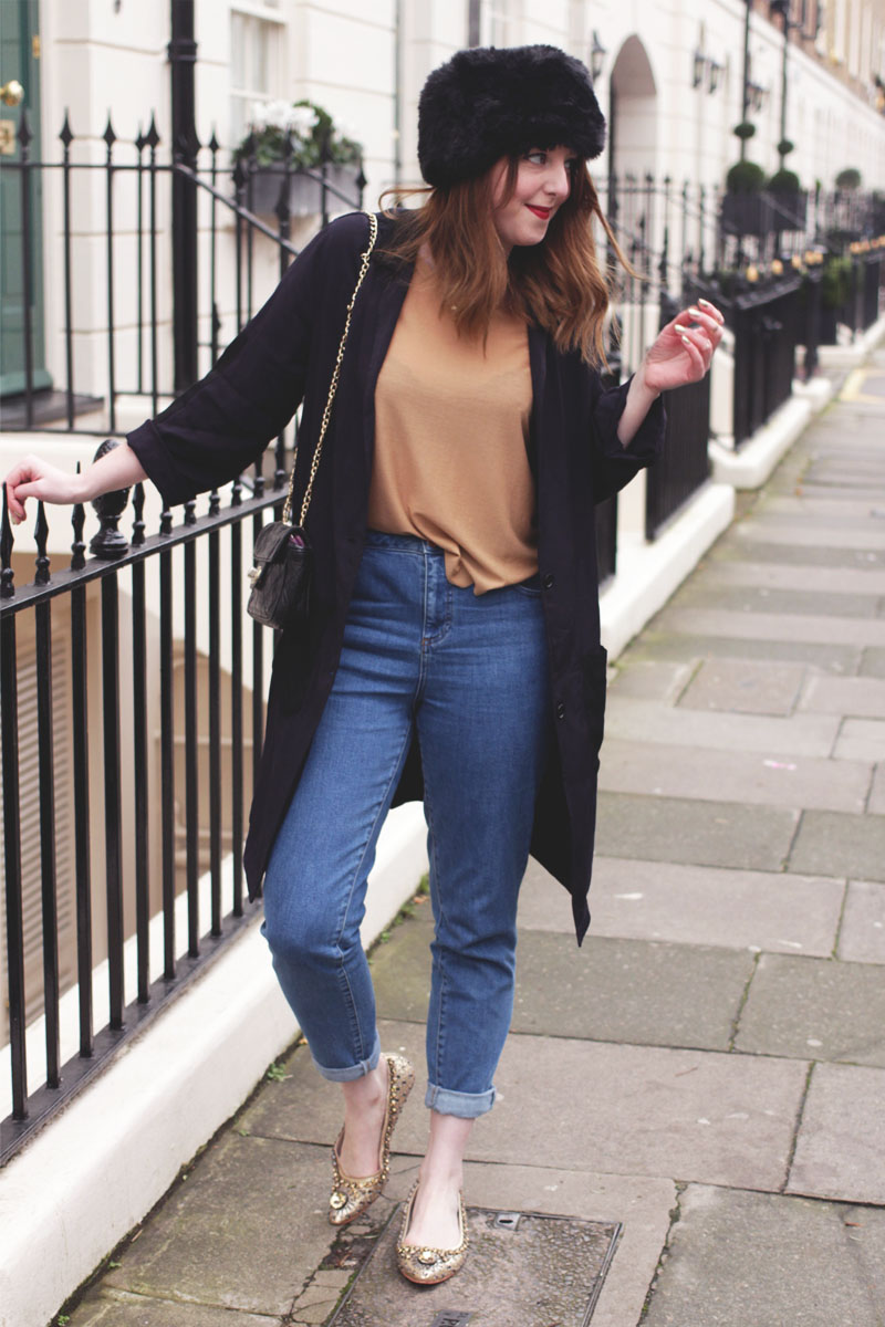 Navy and Camel, Bumpkin Betty, UK Style Blog