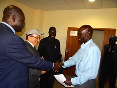 Training for the South Sudan Ministry of Telecommunications
