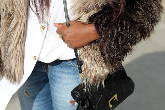 fur winter look outfit zara guess lisforlois