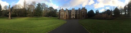 England 2015 - Panoramic Shot of Wroxton Abbey