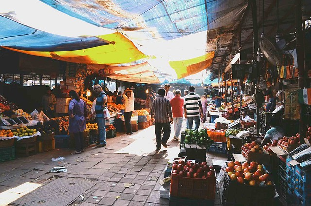 Mumbai Markets | A Brown Table