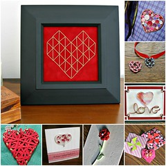 Eight Valentine Projects Collage