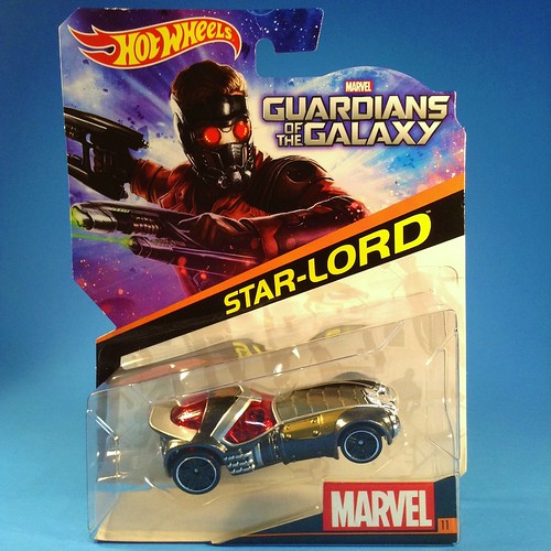 Guardians Hot Wheels Star-Lord carded
