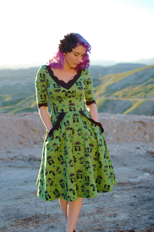 Voodoo Vixen Katnis dress