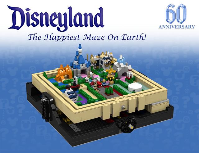 Disneyland Maze