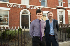 Apprentice and employer at Cowgill Holloway LLP