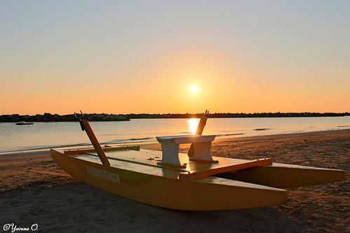 beach strand sunrise meer rimini landschaft sonnenaufgang mediterraneansea landsape mittelmeer